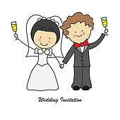 Champagne Toast Clip Art Free | Wedding toast Clip Art Vector Graphics. 287 wedding toast EPS clipart ...