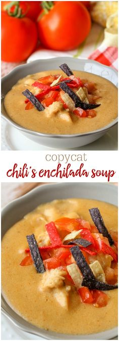 Chili's Copycat Enchilada Soup