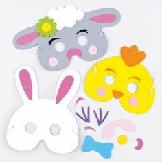 Easter Foam Mask Kits - Bakerross