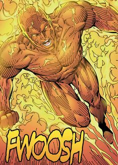 The Human Torch by Jim Lee.