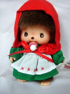 monchhichi- its so adorable! I have one from my mom!