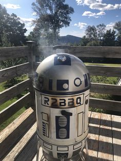 If R2-D2 as a BBQ grill...