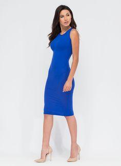 Basic Babe Midi Bodycon Dress GoJane.com