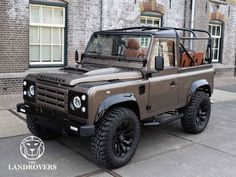 1992 Land Rover Defender Custom build to order Land Rover Defender Pickup, Land Defender, Landrover Defender, Suv Trucks, Lifted Ford Trucks, Land Rover Models, Cars Land, Expedition Vehicle, Off Road