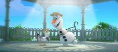 I got 10 out of 10 points! The Ultimate Olaf Quiz | Oh My Disney