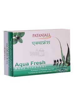 Patanjali Aquafresh Body Cleanser (Bathing Soap), 75 gm