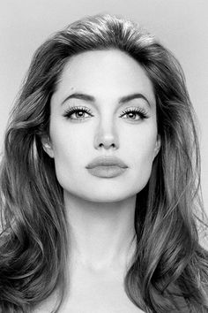 Angelina Jolie. she's just got one of those amazing faces.