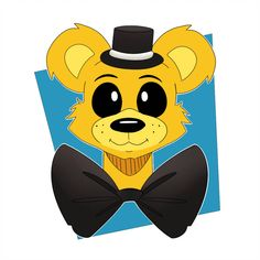Golden FinishedBear by brannahgirl Fnaf Golden Freddy, Fnaf 1, Fnaf Characters, Anime Furry, Five Nights At Freddy's, Anime Naruto, Old Friends, Fan Art, My Favorite Things