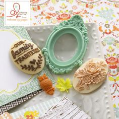 {NEW!} Webster's Pages ~ CHA Summer 2013 New Release ~ Family Traditions by Adrienne Looman ~ Perfect Accents!!