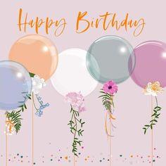 Happy Birthday Greetings Friends, Happy Birthday Wallpaper, Birthday Congratulations, Happy Birthday Wishes Cards, Happy Birthday Flower, Birthday Blessings, Happy Birthday Pictures, Happy Birthday Balloons, Birthday Greeting Cards
