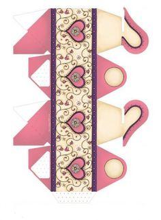 Anyák napi ajándék ötletek (saját kezűleg) - kossuthsuli.lapunk.hu Diy And Crafts, Paper Crafts, Paper Purse, Weird Shapes, 3d Paper, Paper Models, Printable Paper, Love Valentines, Art Lessons