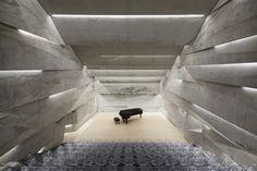 Sala de Concertos Blaibach,Cortesia de peter haimerl.architektur