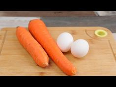 Carrots, Vegetables, Recipes, Food, Youtube, Diet To Lose Weight, Cook, Clean Eating Meals, Strawberry Cheesecake