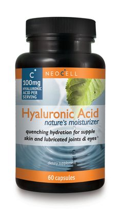 Get healthy radiant skin with Hyaluronic Acid. As people get older, they start to lose their natural Hyaluronic Acid. It does wonders for you body!