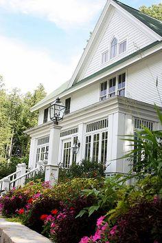 White Gull Inn. love the window enclosed porch                                                                                                                                                                                 More