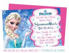 19 Best Frozen Invitations Images In 2014