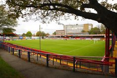 Aldershot Town - The Recreation Ground Nostalgic Pictures, Watford Fc, Brentford, Conkers, Football Stadiums, Great Britain, Golf Courses, Soccer, England