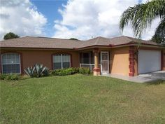 2633 South Chamberlain Blvd.  North Port  This beauty in North Port has 3 bedrooms, 2 bathrooms * FURNISHED * Granite counter tops throughout, marble floors in bathrooms* Custom colors* Crown mouldings and tray ceilings* Dry Bar * Huge screened lanai, great for entertaining *  Plenty of Fruit trees* Great details and pride of ownership** Enjoy colder nights in a hot tub* Convenient location to shopping, restaurants, schools, golf courses and many more.  Listing Price $139,000