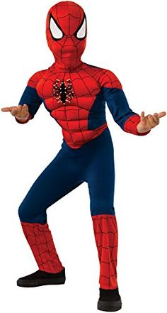 Festive mood on with Boy's Spider-Man Muscle Costume. Charming selection of Spiderman Costumes for Halloween at CostumePub. Kids Spiderman Costume, Halloween Costumes Kids Boys, Superhero Spiderman, Halloween Books, Boy Costumes, Halloween Cosplay, Children Costumes, Amazing Spiderman, Halloween 2017