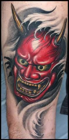 japanese mask tattoo designs - Yahoo Image Search results