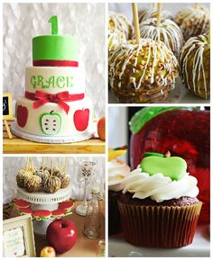 Apple of My Eye themed birthday party via Kara's Party Ideas KarasPartyIdeas.com #appleofmyeye (2)