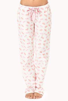 Size MediumLove Of Macaron PJ Pants | FOREVER21 - 2000075952