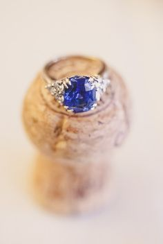 Vintage Sapphire #Engagement Ring I http://www.weddingwire.com/wedding-photos/reception/sapphire-blue-wedding-inspiration/i/9e6af3a1025f2b44-3a25108a21a78559/34f8f6fdcae94bf7