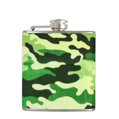 Camo Pattern  fun drinking flask