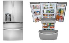 Kenmore Refrigerator provides you high-quality appliances into all aspects. Kenmore elite refrigerator is the best one among all of the Kenmore brands. You will get enough spaces and highest facilities in Kenmore Elite fridge. You can have Kenmore refrigerator water filter to ensure a clean environment. Kenmore refrigerator filter genuinely performs better as well as other appliances. Apartment Size Refrigerator, Kenmore Refrigerator, French Door Refrigerator, Kenmore Elite, Kitchens, Kitchen Appliances, Water Filter, Deco, Home Improvement