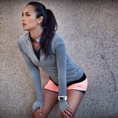 Fitness outfits shorts workout gear 37 ideas for Cute Athletic Outfits, Cute Workout Outfits, Workout Attire, Womens Workout Outfits, Workout Wear, Sport Outfits, Fitness Outfits, Fitness Clothing, Womens Workout Shorts