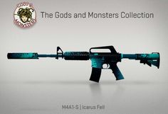 Counter-Strike Global Offensive: The Gods and Monsters Collection: M4A1-S Icarus Fell