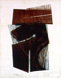 Pedra Vegetal 1983 | Maria Bonomi xilogravura, 81 / 100 51.50 x 33.00 cm