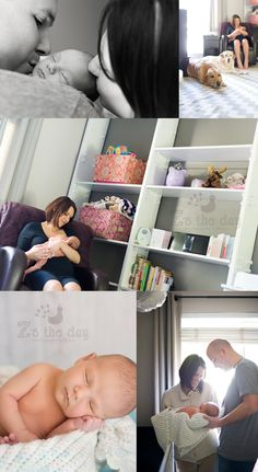 newborn lifestyle {Z's the Day Photo}
