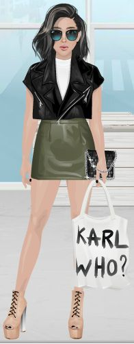 CuteRockybalboa #Stardoll #Outfit #KarlWho?
