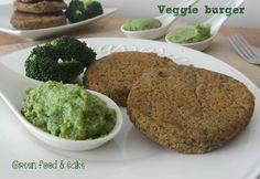 VEGGIE BURGER http://blog.giallozafferano.it/greenfoodandcake/veggie-burger/