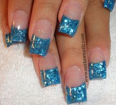 Nails Mylar Nails, Bella Nails, Pretty Hands, Hold My Hand, Mani Pedi, Nail Ideas, Projects To Try, Nail Polish, Glitter