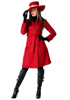 90s flash back costume! Remember that old CD  Rom game called where in the world is Carmen Sandiego? Well I found her!