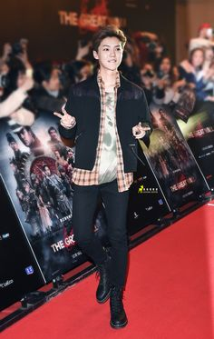 LuHan 鹿晗|| 161206 The Great Wall Movie Premiere [Cr:Logo] #can't wait to see it!!!