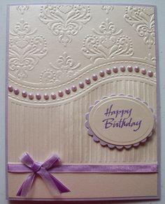 All Occasions embossing folder, free with magazine.