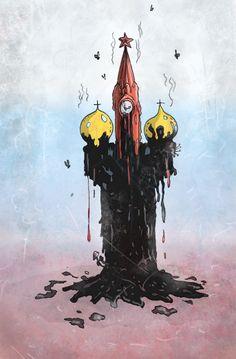Art by Stas Rosin_ Something is rotten in the state of Russia  #Ukraine, #Krym, #Russia, #Crimea, #Putin, #war, #politics, #ЕвроМайдан, #Russia, #ukraine, #putin, #war, #Krieg, #aggression, #fight, #politics, #food, #foodfight, #Krieg, #Russland, #cartoons, #politicalcartoons, #crimea, #political, #krym #Caricature,  #Россия,  #Украина,  #война,  #карикатура,  #крым,  #политика,  #путин
