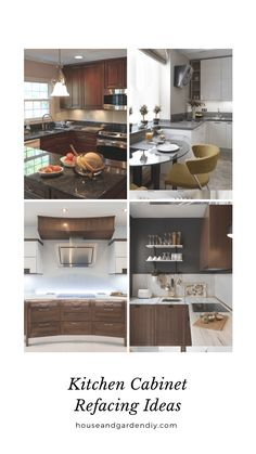 30 Before and After Kitchen Cabinet Refacing Ideas And After - Modern Refacing Kitchen Cabinets Cost, Cabinet Refacing Cost, Modern Kitchen Cabinets, Diy Cabinets, Diy Kitchen, Kitchen Design, Kitchen Stuff, Cuisines Diy, Cuisines Design