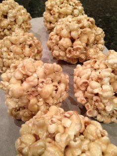 Easy marshmellow popcorn balls