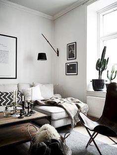 Un appartement couleur d'ambre