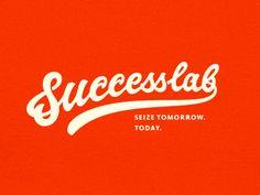 Dribbble - Successlab by Sergey Shapiro #lettering #type #dribbble