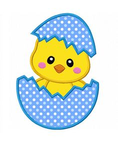 Easter Chicken-01 Applique Machine Embroidery Design NO:0145