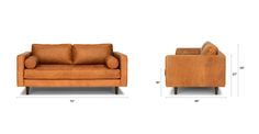 "Sven Charme Tan 72"" Sofa - Sofas - Article 
