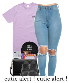 """""""P'N'B"""" by oh-thatasia ❤ liked on Polyvore featuring NIKE"""