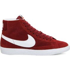 Nike Blazer Mediados De Los Formadores De Ceniza Roja