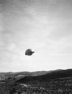 Old UFO Photos Gallery 3 « UFO Sightings. A Shape Seen On A Number Of Occasions.