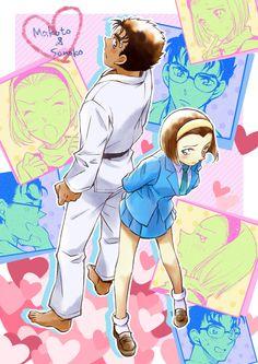 Sonoko and Makoto^^